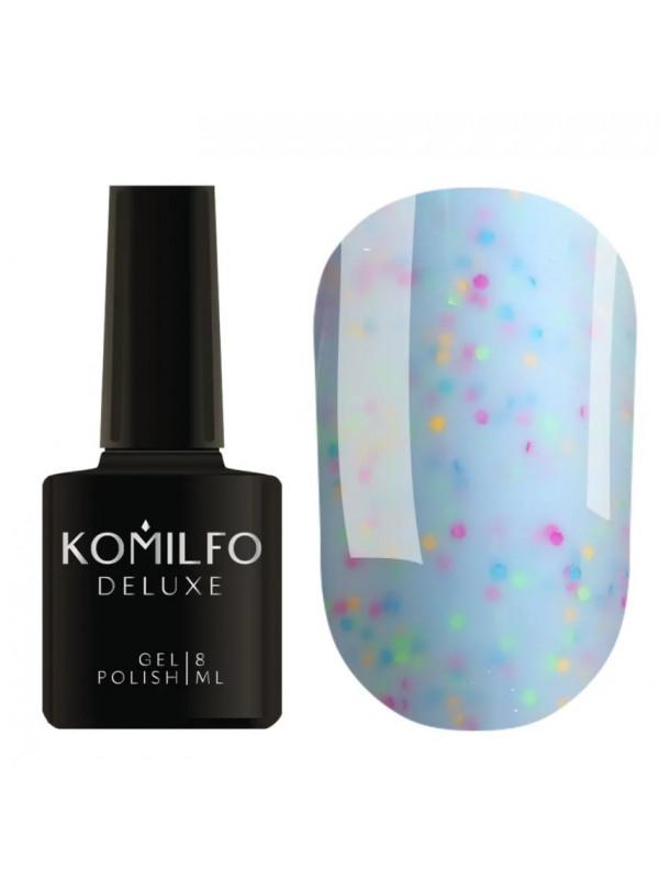 Komilfo Confetti Gel Polish CN008, 8 ml