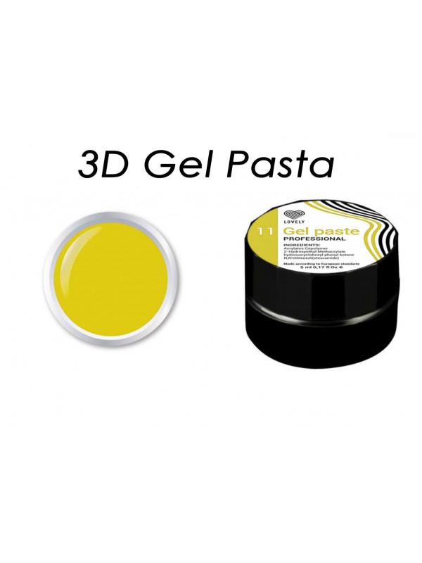 """3D Gel Pasta """"Lovely"""" №11"""