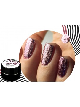 Rose Flakes Shine Gel Polish №04 , 5 ml