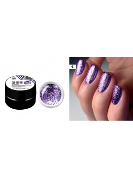 Purple Flakes Shine Gel Polish №10 , 5 ml