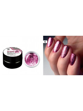 Fucsia  Flakes Shine Gel Polish №11 , 5 ml