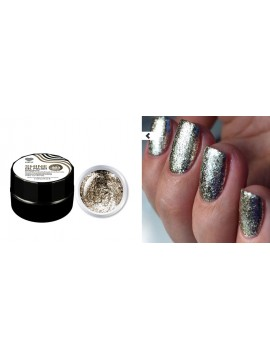 Light Gold Flakes Shine Gel Polish №03 , 5 ml