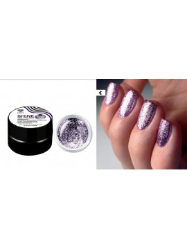 Violet Flakes Shine Gel Polish №06 , 5 ml