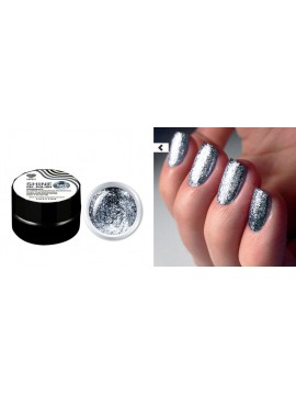 Blue Flakes Shine Gel Polish №07 , 5 ml