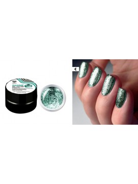 Green Flakes Shine Gel Polish №08 , 5 ml