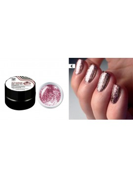 Pink Flakes Shine Gel Polish №09 , 5 ml