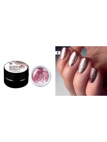 Pink Flakes Shine Gel Polish №09 , 5 ml
