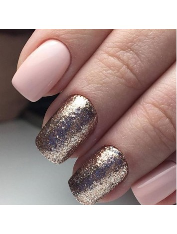 Bronze Flakes Shine Gel Polish №05 , 5 ml