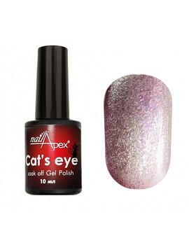 NailApex Crystal Cat Eye Gel Polish , 6 ml/10 ml