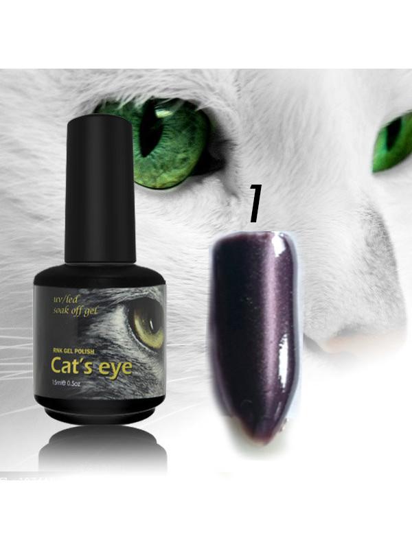 RNK Cat eye Gel Polish №1 , 15 ml