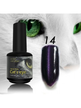 RNK Cat eye Gel Polish №14 , 15 ml