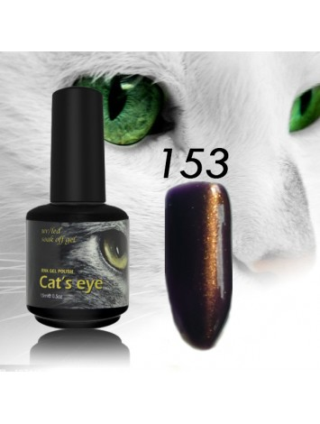 RNK Cat eye Gel Polish №153, 15 ml