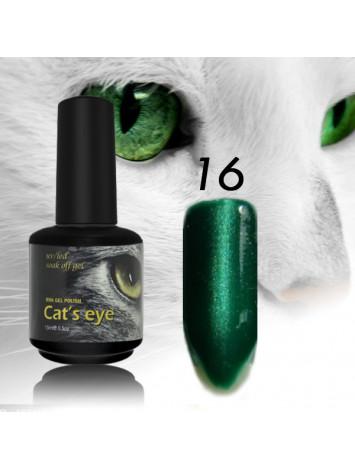RNK Cat eye Gel Polish №16 , 15 ml