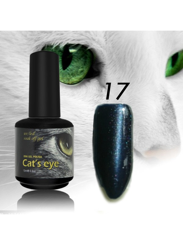 RNK Cat eye Gel Polish №17, 15 ml