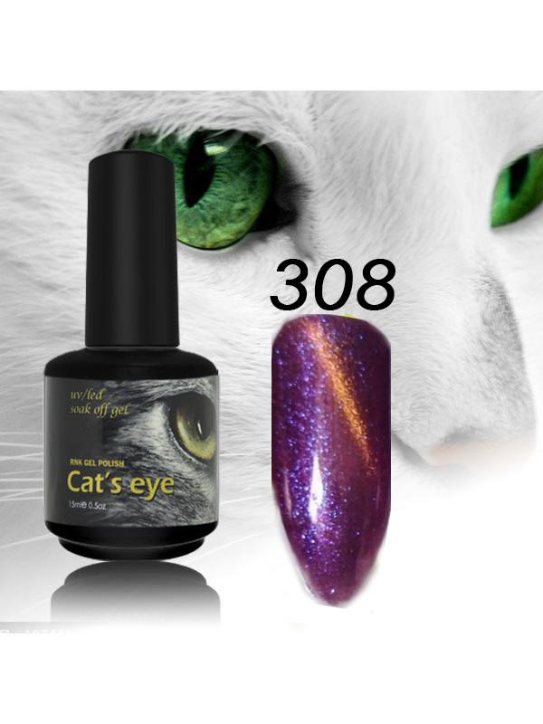 RNK Cat eye Gel Polish №308, 15 ml