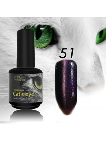 RNK Cat eye Gel Polish №51, 15 ml