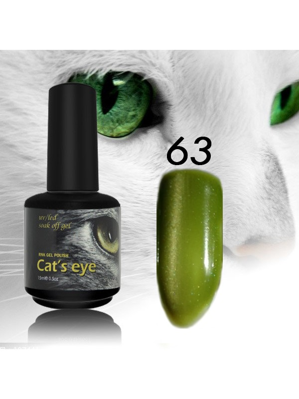 RNK Cat eye Gel Polish №63, 15 ml