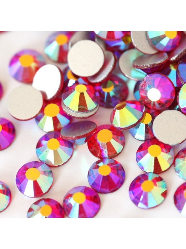 Light Siam AB Rhinestones