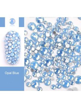 Blue Opal Rhinestones