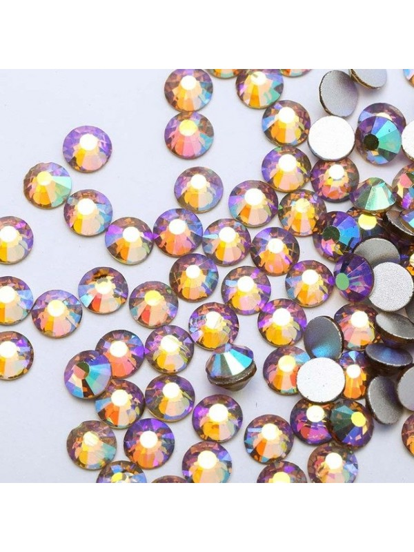 Light Topaz AB Rhinestones