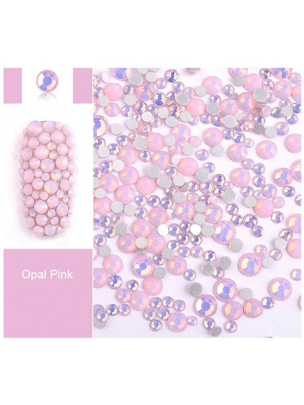 Pink Opal Rhinestones