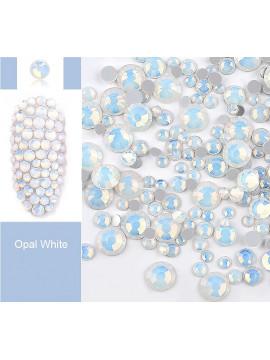 White Opal Rhinestones