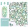 Green Opal Rhinestones