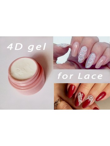 4D White Plastiline Gel, 8 ml