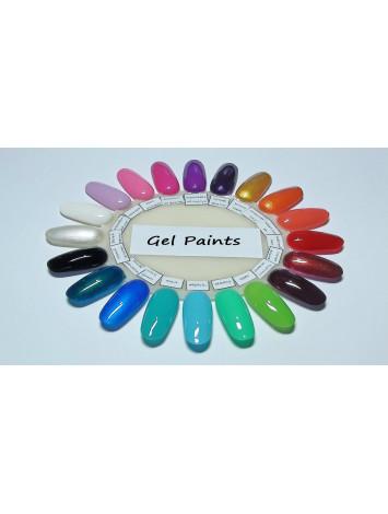 20 pcs Set of  Gel Paints